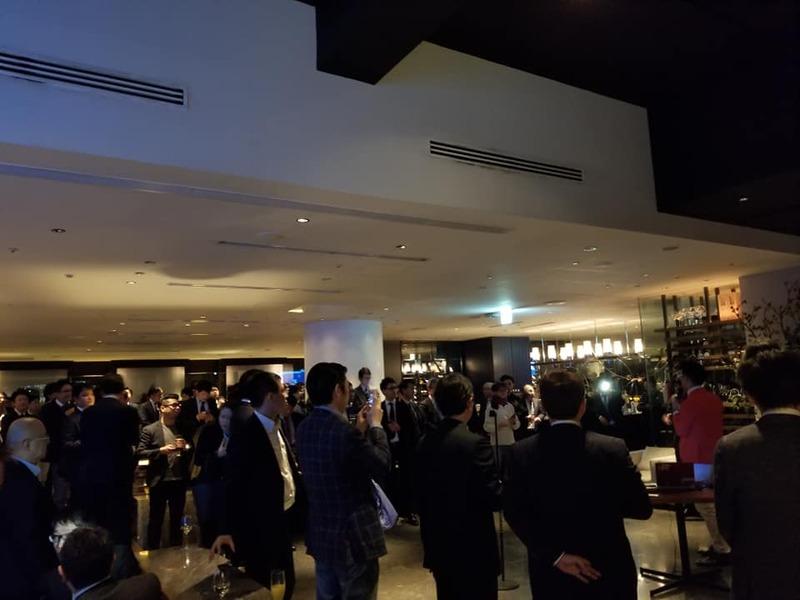 全国の人材ビジネス会社の経営者が一同に集うパーティー