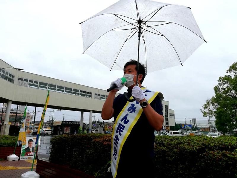 荒川沖駅からおはようございます。