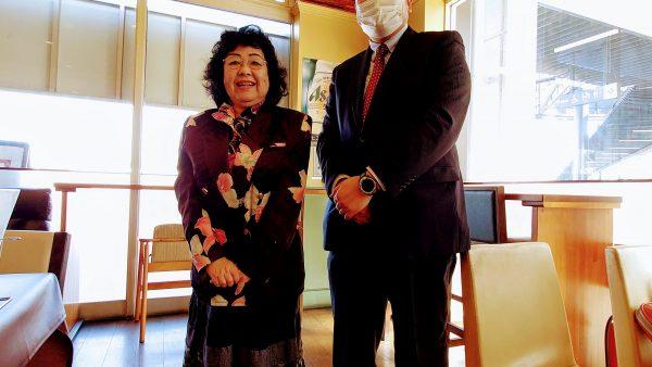 山田美枝子守谷市議会議員がご退院。